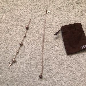 Coach Necklace & Bracelet Set